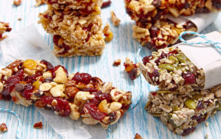 """Cereal bars are an """"on-the-go"""" alternative to breakfast cereal."""